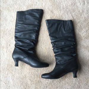 ✨Narrow Array tall black boots